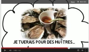 Vidéo Connexion-Française: où sont passées les huîtres?!
